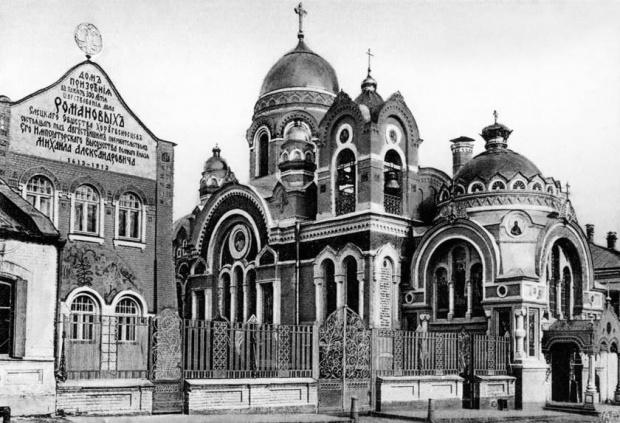 Церковь в честь 300-летия Дома Романовых в Ельце
