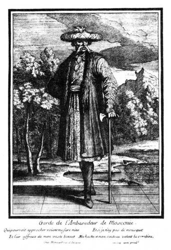 Портрет Н.Е. Бехтеева, сделанный во Франции во время его посольства