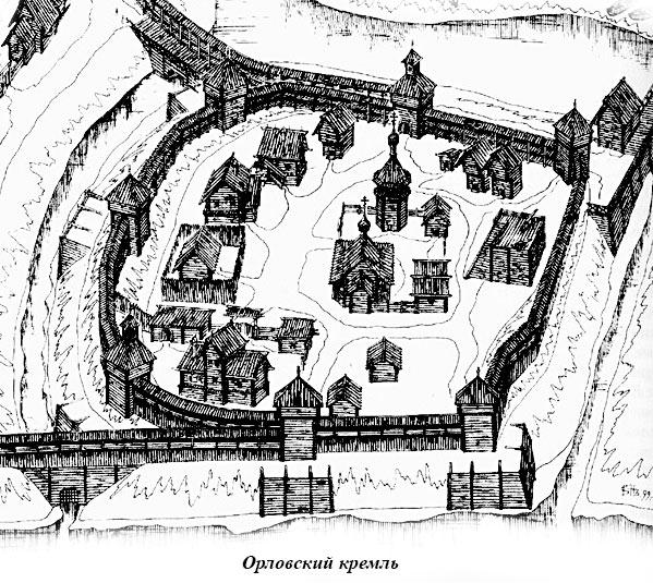 Орловский кремль