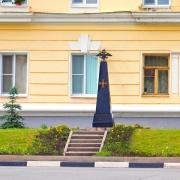 Памятник 33-му Елецкому пехотному полку. Фото 2012 г.