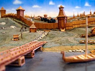Елецкая крепость (макет)