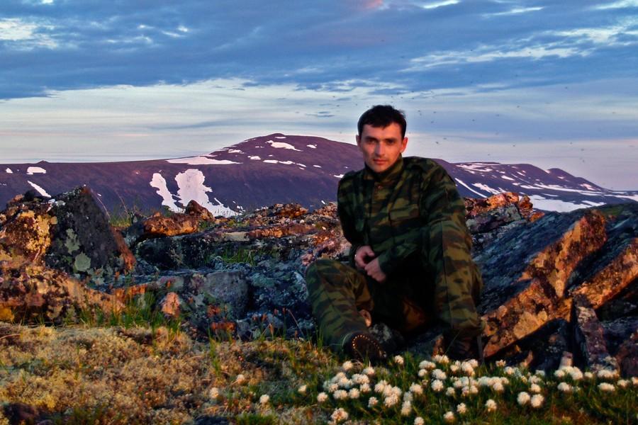 На Обеизе. Полярный Урал, 2008 год.