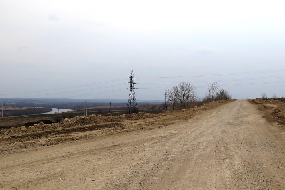 Дорога на старую елецкую городскую свалку