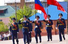 Военный парад Победы в Ельце