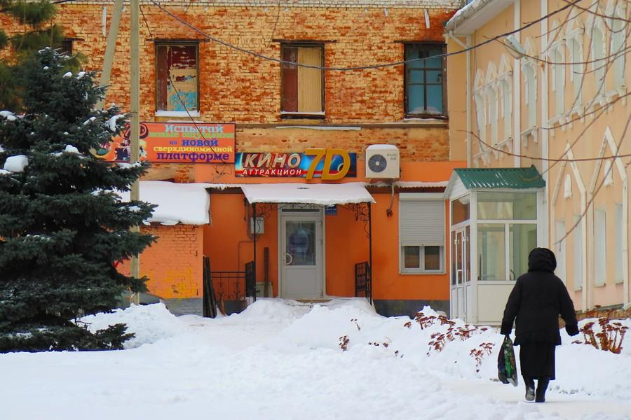 Современный кинозал в здании бывшей табачной фабрики