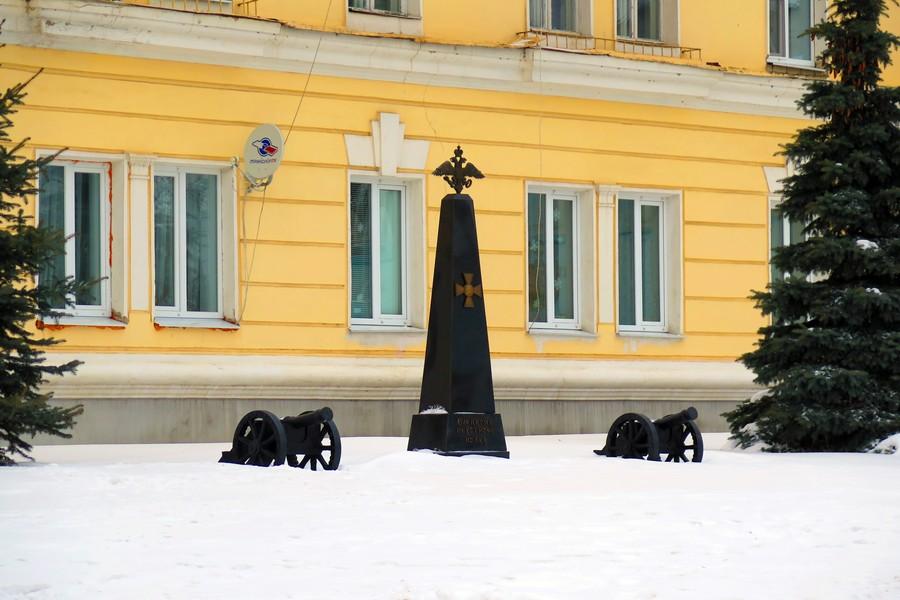 Памятник Елецкому пехотному полку