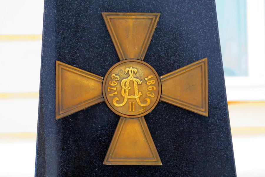 Памятный знак Елецкого пехотного полка
