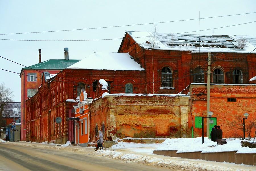 Развалины бывшей елецкой табачной фабрики