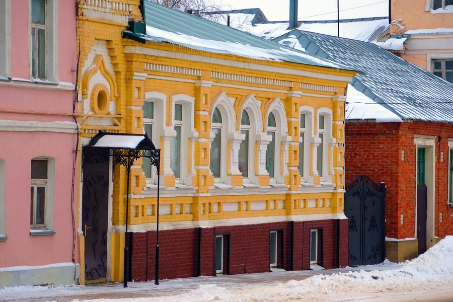Жилой дом на улице Октябрьской в Ельце